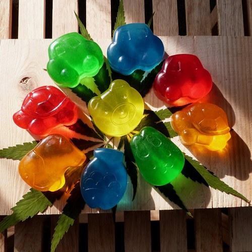 Mýdla s konopným olejem_dětské tvary