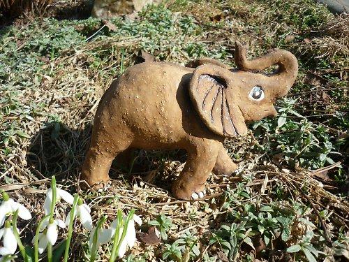 modelovaný slon