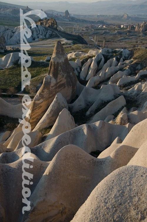 Skalní homole v Kapadokii