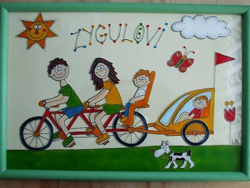 Rodinka cyklistů :-)