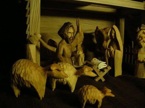 Betlém o 25 figurách, Originální styl