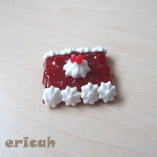 Rybízový mini dortíček pro Tonnerky