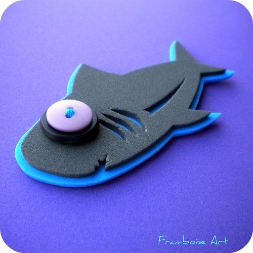 Šedivo modrý žralok