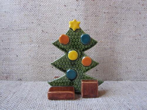 vánoční stromeček lentilkový
