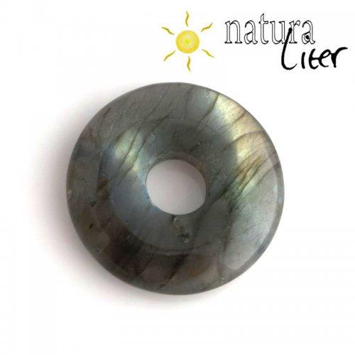 Labradorit - donut 35 mm