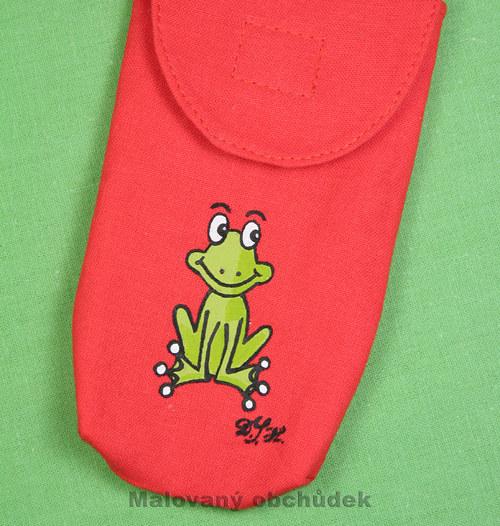 Obal na mobil s žabákem Kulivočkem