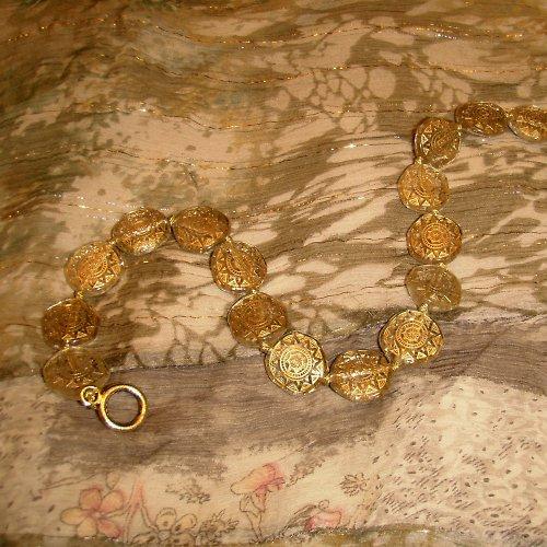 náhrdelník Aztécké penízky