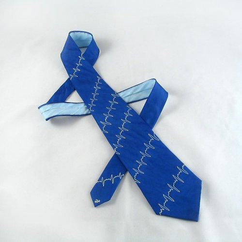Modrá kravata (nejen) pro lékaře