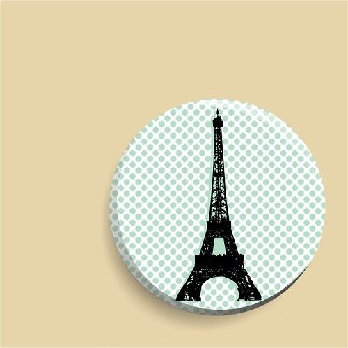 zrcátko Paris, I love you!