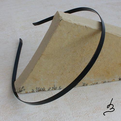 Kovový základ na čelenku BL - 1 ks VÝPRODEJ