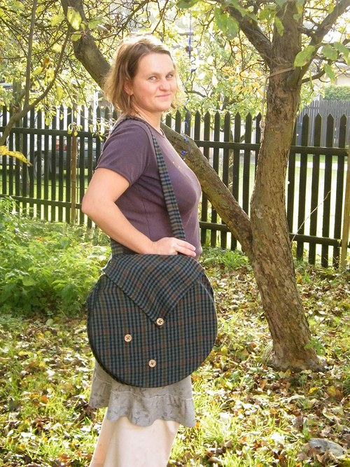 Taška na šamanský buben prům. 30cm