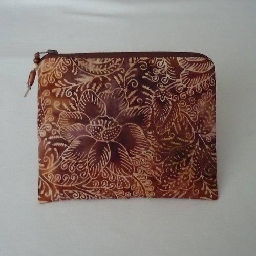 *Ledové květy v batice - taštička do kabelky