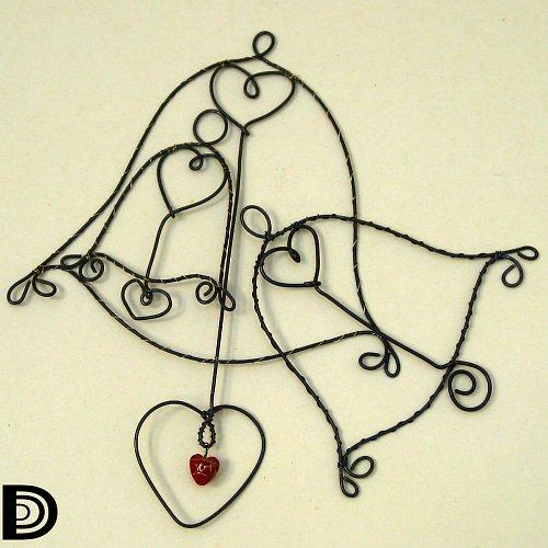 I zvony mají srdce (sada 3ks)