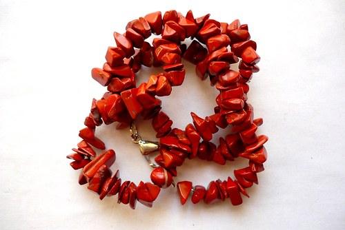 Minerální zlomky 45 cm - jaspis červený