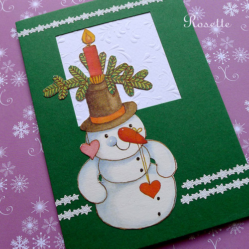 Sněhulákovi mrzne nos! -  přání