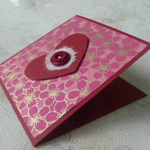 Srdíčkové přání růžové