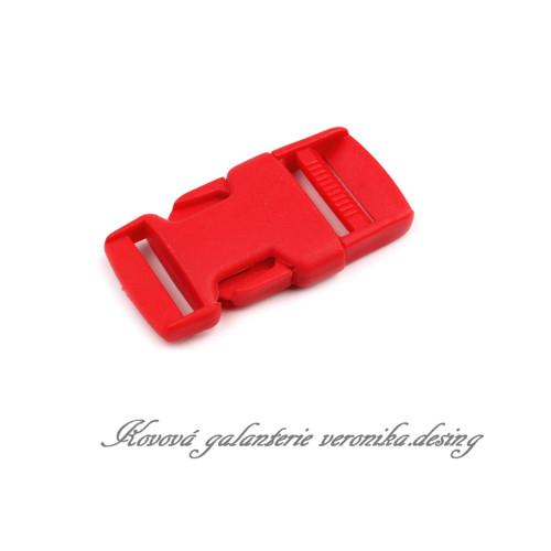Trojzubec 30 mm - červená