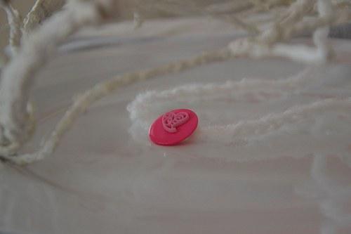 """Čelenka \""""Mimi s růžovým srdíčkem\"""""""