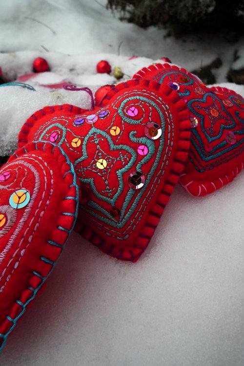 ozdoba, přívěsek, dekorace THE BIG HEART n.2