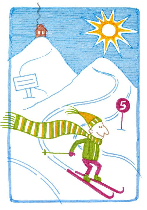 "\""Pozdrav z hor 2\"" - pohlednice"