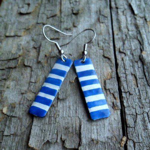 Modrá zebra