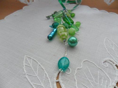 Náhrdelník Zelený skvost
