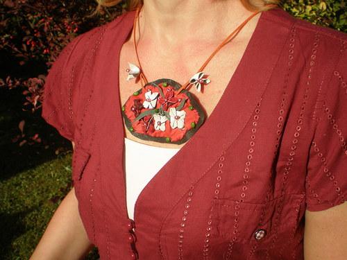 Kytičkoplacka - náhrdelník