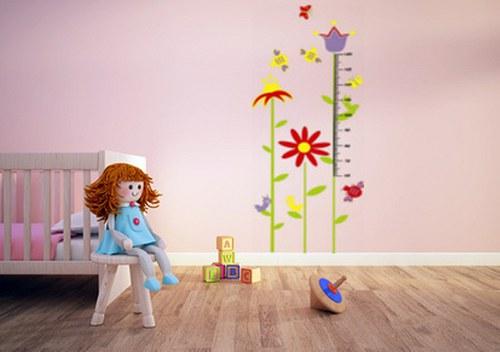 samolepka dětský metr 160cm