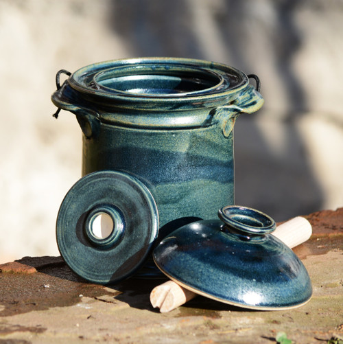 Kvašák mini rovný s vodním zámkem 1,7l - Z hlubin