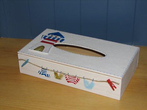 Krabička na kapesníčky MOŘSKÁ RÝMA