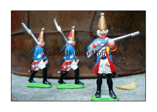 Příběhy hraček - cínoví vojáčci