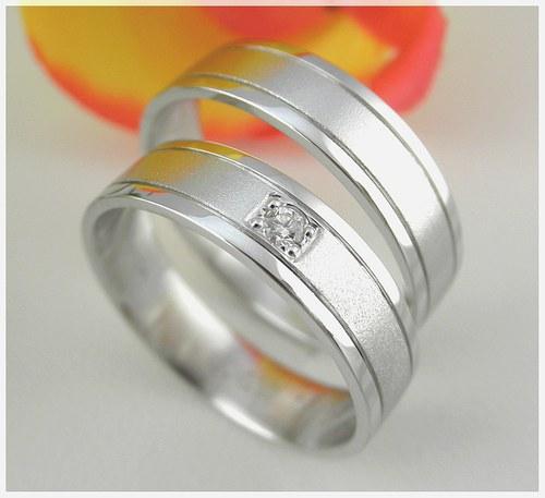Snubní prsteny č. 44