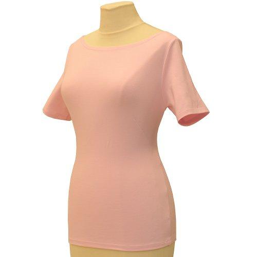 Růžové tričko belaroma krátký rukáv, lodičkový výs