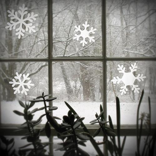 """Sněhové vločky \""""malé\"""""""