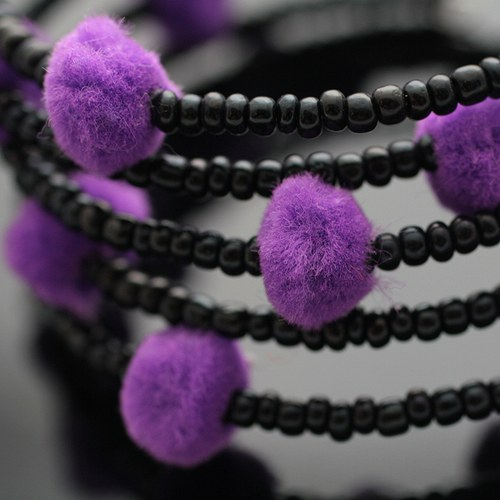 Černo-fialová paměť - VÝPRODEJ