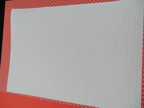 embosovaný papír A4