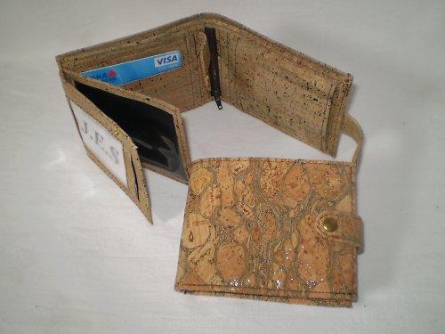 Korková peněženka UNI