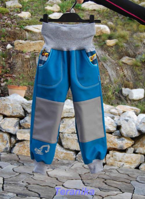 Softshellové kalhoty zimní 30/15 vel.86-122