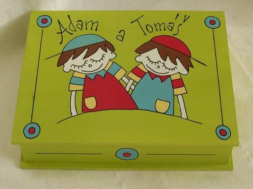 bratříčkové - malovaná krabička