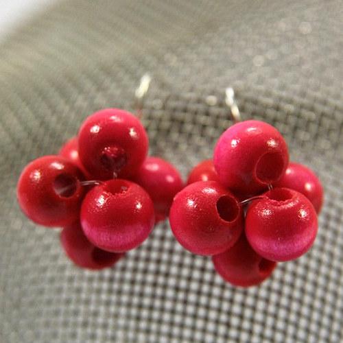 Náušnice Berries Pink