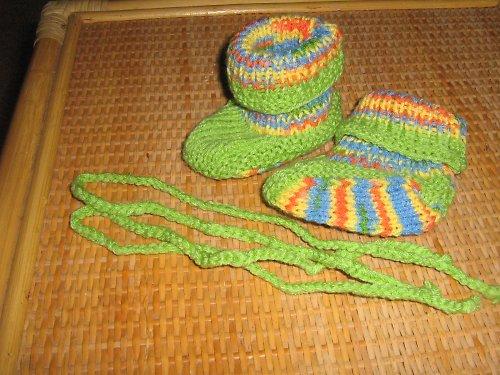 Zelené bačkůrky-pestré