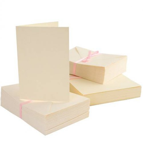 Obálky a karty 10 ks A6