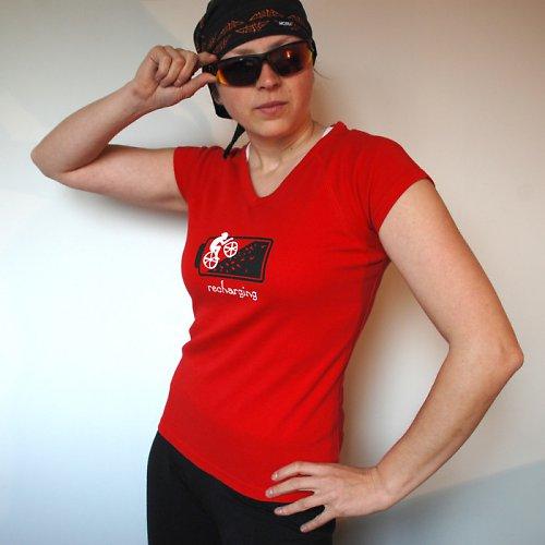 Cyklistika je můj energizer - červená S