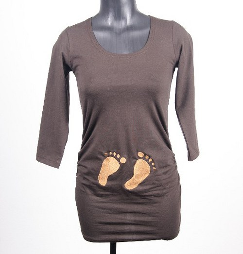 Nohy na tričku :)