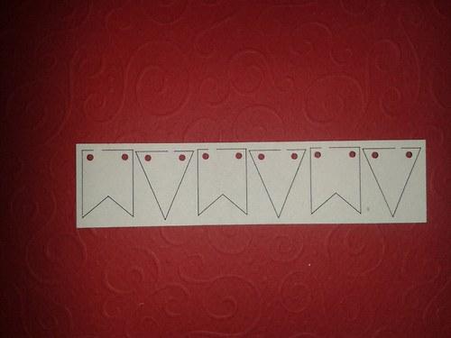 Girlanda - vlaječky