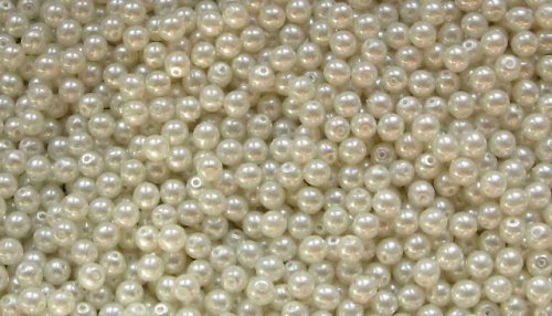 Voskové perle 4mm (ev.č.2712011) - 100ks