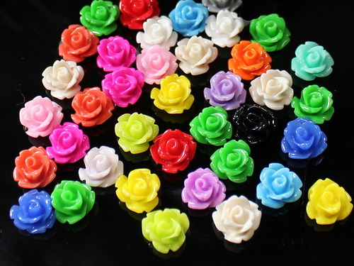20137 Kabošon mini květy 10/6 MIX, bal.10ks AKCE!!
