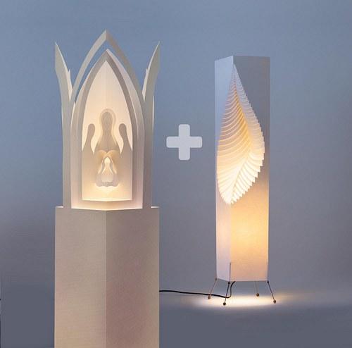 Lampa LEAF L stínidlo Betlem Praga ZDARMA