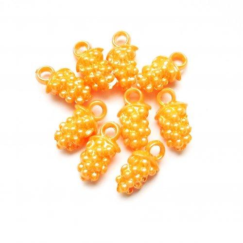 Akrylové hrozny oranžové 3 ks