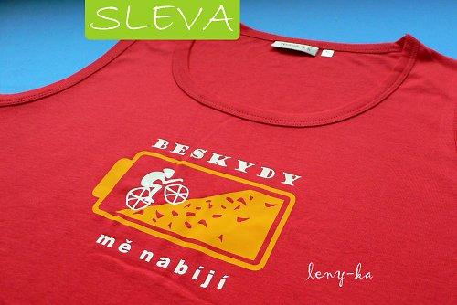 Cyklistka Beskydy / bez rukávu, dámy, XL